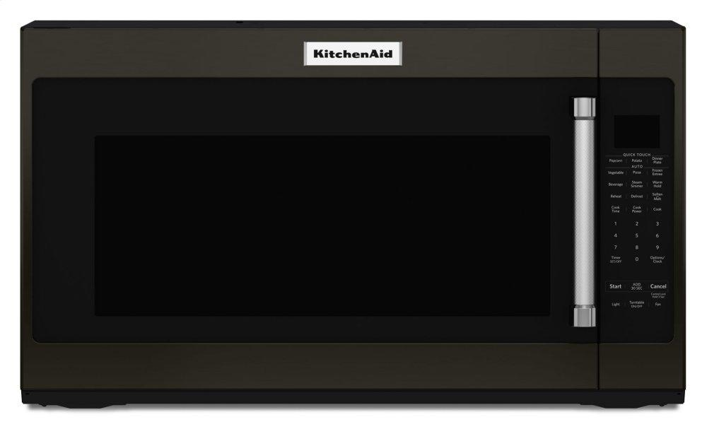 "KitchenAid30"" 1000-Watt Microwave Hood Combination - Black Stainless Steel With Printshield™ Finish"