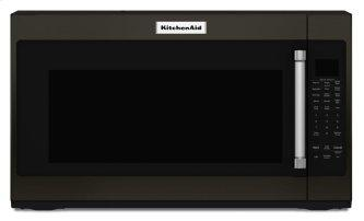 "30"" 1000-Watt Microwave Hood Combination - Black Stainless Steel with PrintShield™ Finish"