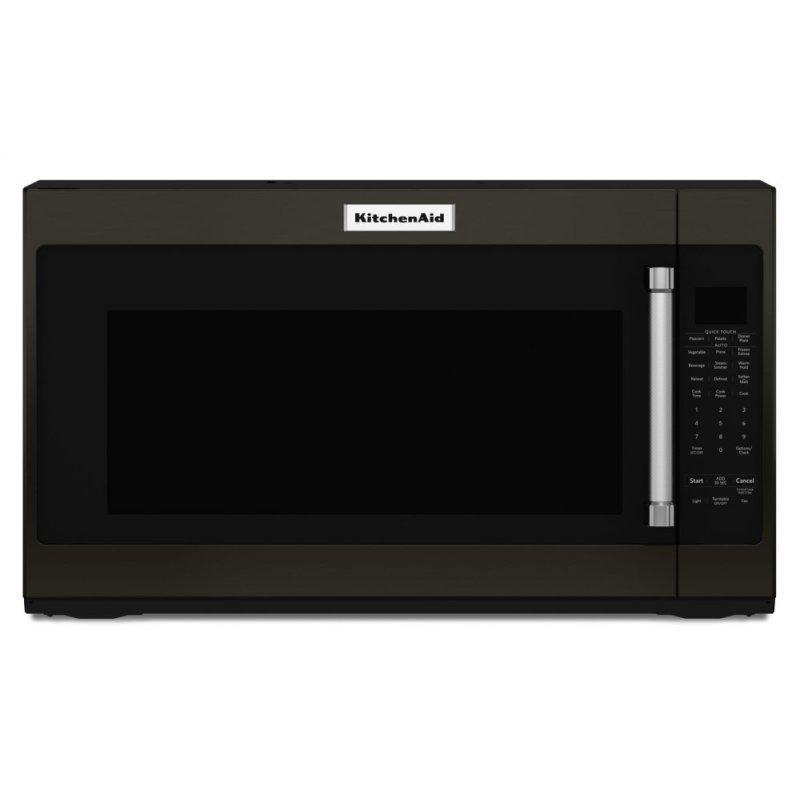 "30"" 1000-Watt Microwave Hood Combination - Black Stainless Steel with PrintShield™ Finish"