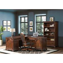 Clinton Hill - L-desk and Return - Classic Cherry Finish