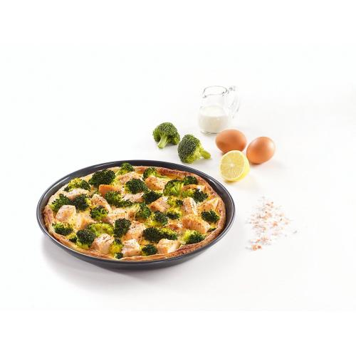 HBF 27-1 Round baking tray with PerfectClean finish.