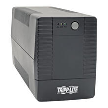 650VA 480W Line-Interactive UPS with 6 Outlets - AVR, 120V, 50/60 Hz, USB, Tower