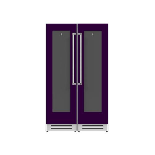 "Hestan - 48"" Wine Cellar Ensemble Refrigeration Suite - Lush"