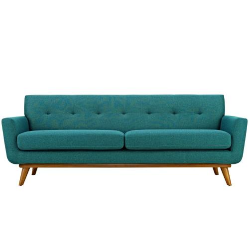 Modway - Engage Upholstered Fabric Sofa in Teal