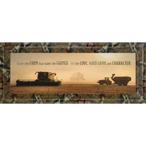 """The Farmer"" By Lori Dieter Framed Photo Print Wall Art"