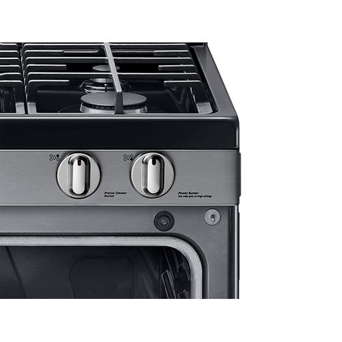 5.8 cu. ft. Gas Range in Stainless Steel