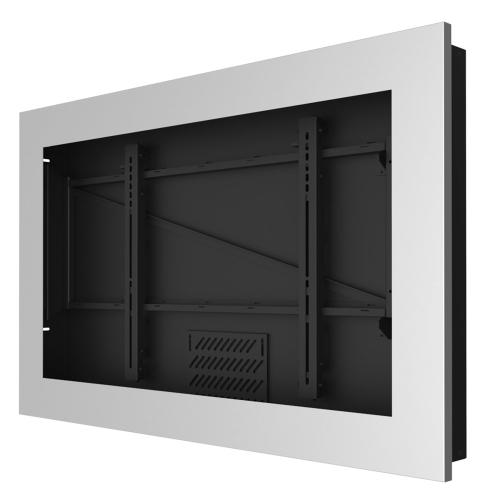 In-Wall Kiosk Enclosures (Landscape) - Silver / 43