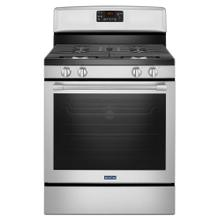 30-INCH WIDE GAS RANGE WITH FAN CONVECTION AND MAX CAPACITY RACK - 5.8 CU. FT.