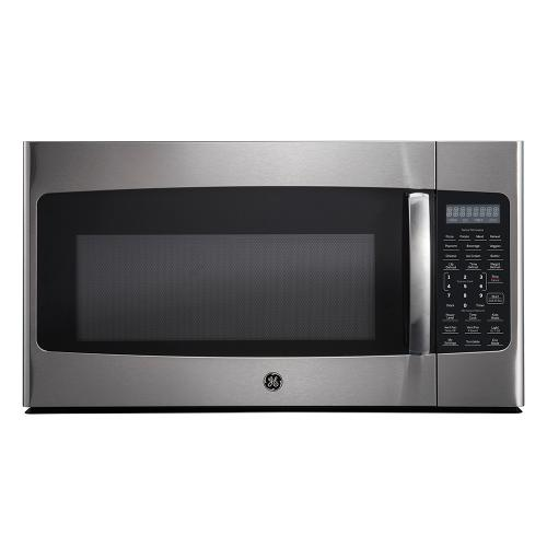 GE 1.8 Cu. Ft. Over-the-Range Microwave Oven Stainless Steel - JVM2185SMSS