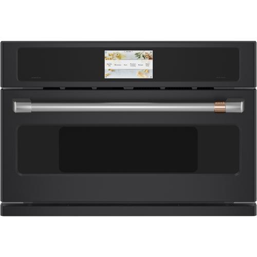 Café ™ 30'' Five in One Oven with 240V Advantium ® Technology Matte Black