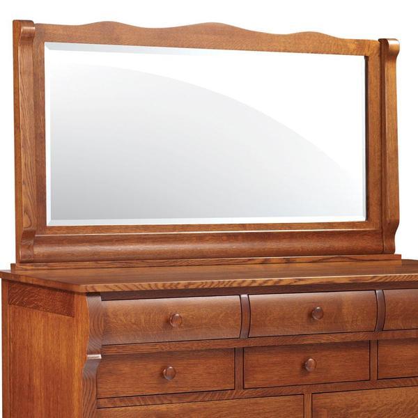See Details - Empire Bureau Mirror, 65 'w x 2 'd x 32 'h