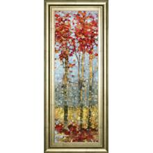 """Crimson Woods Il"" By Carmen Dolce Framed Print Wall Art"