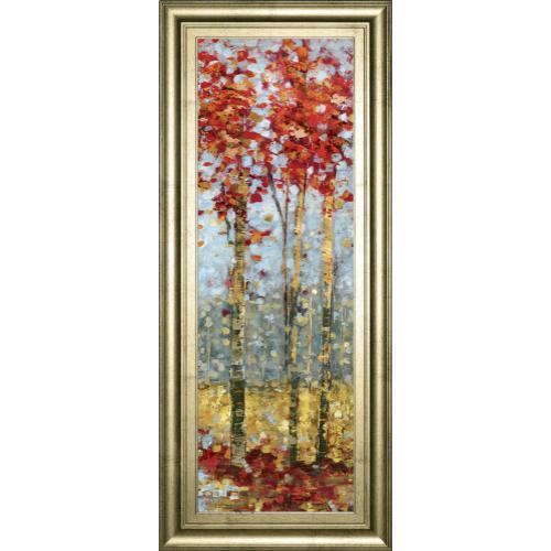 """Crimson Woods Il"" By Carmen Dolce Framed Print Wall Art"