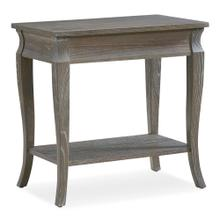 Luna Narrow Chairside Table #11605-GW