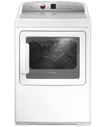 Fisher & Paykel DG7027P1 Laundry Front Load Gas Dryer AeroCare Gas with Steam