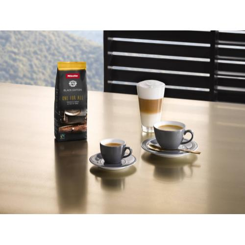 Miele - Miele Black Edition ONE FOR ALL 4x250g - ORGANIC Blend One for All Perfect for making Espresso, Café Crema, and specialty coffees with milk.