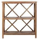 Liam Open Bookcase - Oak Product Image