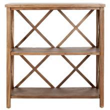 Liam Open Bookcase - Oak