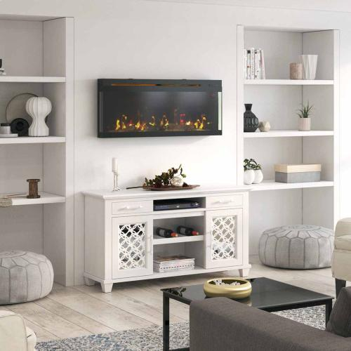 PanoGlow™ Wall Mounted Electric Fireplace