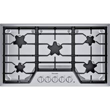 SAVE!!! SWAPPED FOR UPGRADED MODEL - THERMADOR POPULAR36-Inch Masterpiece® Star® Burner Gas Cooktop, ExtraLow® Select - USED FOR ONE MONTH - IN PERFECT CONDITION AND ALREADY CONVERTED TO LP; ADDITIONAL SAVINGS... 6 MONTH FULL PAGE WARRANTY