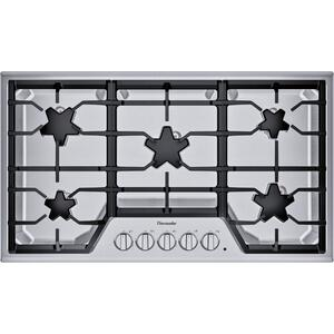 Thermador36-Inch Masterpiece® Star® Burner Gas Cooktop, ExtraLow® Select