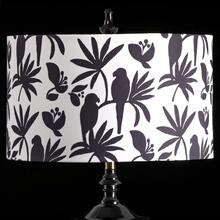 BIRD MIXOLOGY SHADE  LARGE  11in X 19in  Available in three sizes this lighting collection has a