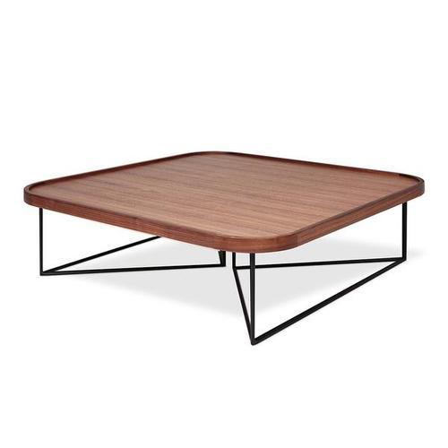Porter Coffee Table - Square Walnut
