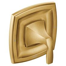 Voss brushed gold posi-temp® valve trim