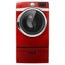 7.5 cu. ft. King-Size Capacity Electric Front-Load Dryer (Red)