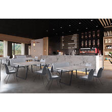 Coronado 6 Piece Grey Rectangular Dining Set
