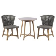 Explorer Pioneer Bistro Set - 2 Chairs + 1 Table