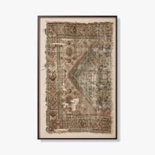 0299030038 Vintage Textile Wall Art