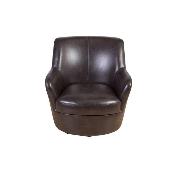 See Details - Hayes Brown Swivel Chair, AC973