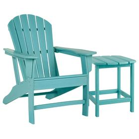 Outdoor Chair With End Table