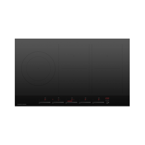 """Fisher & Paykel - Induction Cooktop, 36"""", 5 Zones, with SmartZone"""