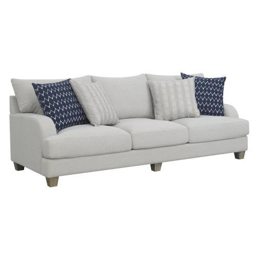 Emerald Home Sofa W/ 4 Accent Pillows U4389-00-03a