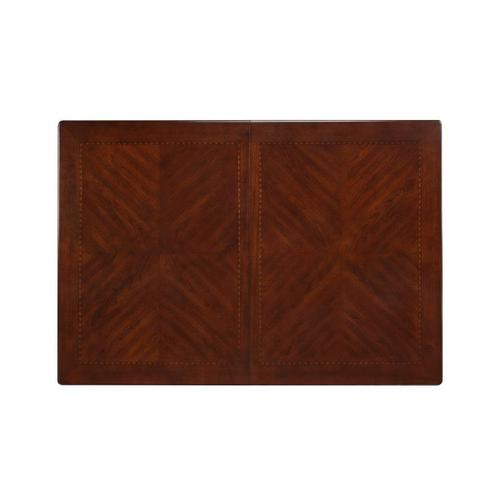 "Woodmont Dining Table with 18"" Leaf, Brown Cherry"