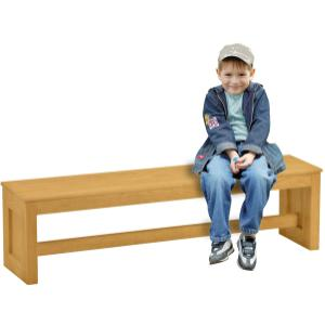 Large Bench, Wood Top