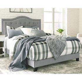 Jerary Queen Upholstered Bed Gray