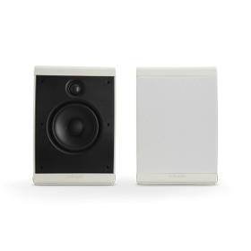 COMPACT MULTI-APPLICATION SPEAKERS (PAIR) in White