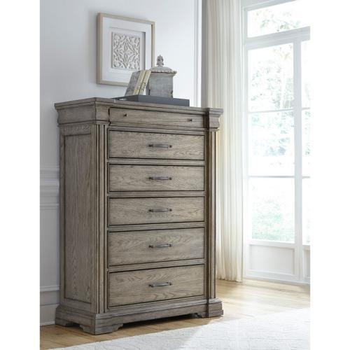 Pulaski Furniture - Madison Ridge 6 Drawer Chest in Heritage Taupe