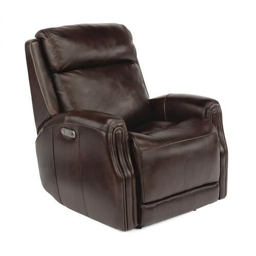 Stanley Power Gliding Recliner with Power Headrest
