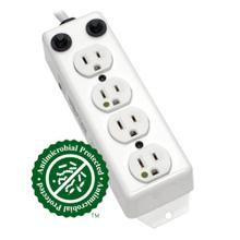 See Details - Safe-IT UL 1363A Medical-Grade Power Strip for Patient-Care Vicinity, 4x 15A Hospital-Grade Outlets, 2 ft. Cord