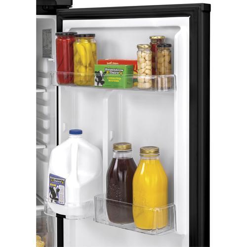 Top Mount Refrigerator - Black
