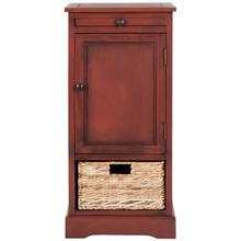 See Details - Raven Tall Storage Unit - Red