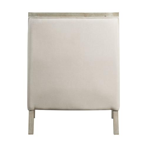 Hopkins Accent Chair with White Wash Frame