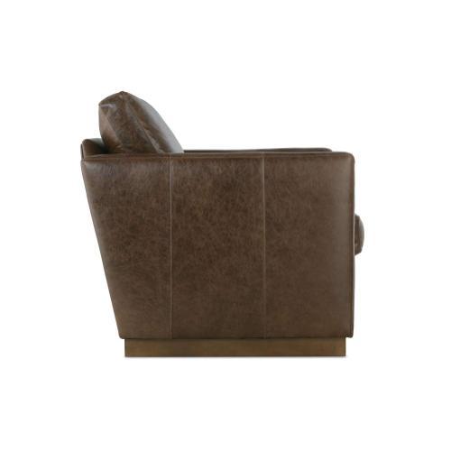 Robin Bruce - Allie Leather Swivel Chair