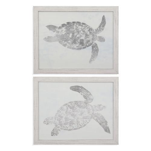 2 Pc Sea Turtle