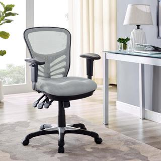 See Details - Articulate Mesh Office Chair in Gray