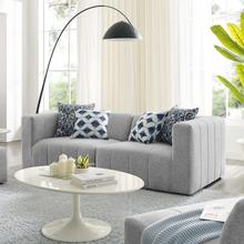 See Details - Bartlett Upholstered Fabric 2-Piece Loveseat in Light Gray